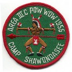1955 Area 3-C Pow Wow patch