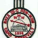 1956 Area 3-C Pow Wow patch