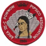 1961 Area 3-C Pow Wow patch