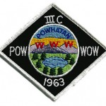 1963 Area 3-C Pow Wow patch
