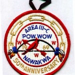 1969 Area 3-C Pow Wow patch