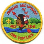 1985 SE-8 Conclave patch