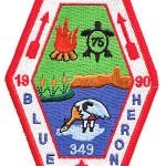 Blue Heron Lodge 1990 NOAC patch