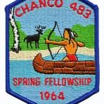 Chanco Lodge 1964 Spring Fellowship