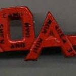 1958 Area 3-C Pow Wow neckerchief slide
