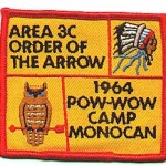 1964 Area 3-C Pow Wow patch
