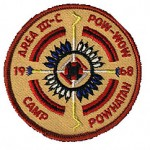 Area 3-C Pow Wow patch