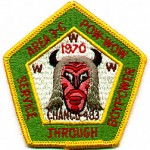 1970 Area 3-C Pow Wow patch