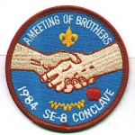 1984 SE-8 Conclave patch
