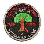 Kecoughtan Lodge 1970 Fall Fellowship